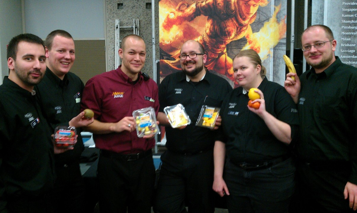 GP Amsterdam 2011 — with Alexis Rassel, Richard Drijvers, Jason Lems, Johanna Virtanen and Nick Sephton