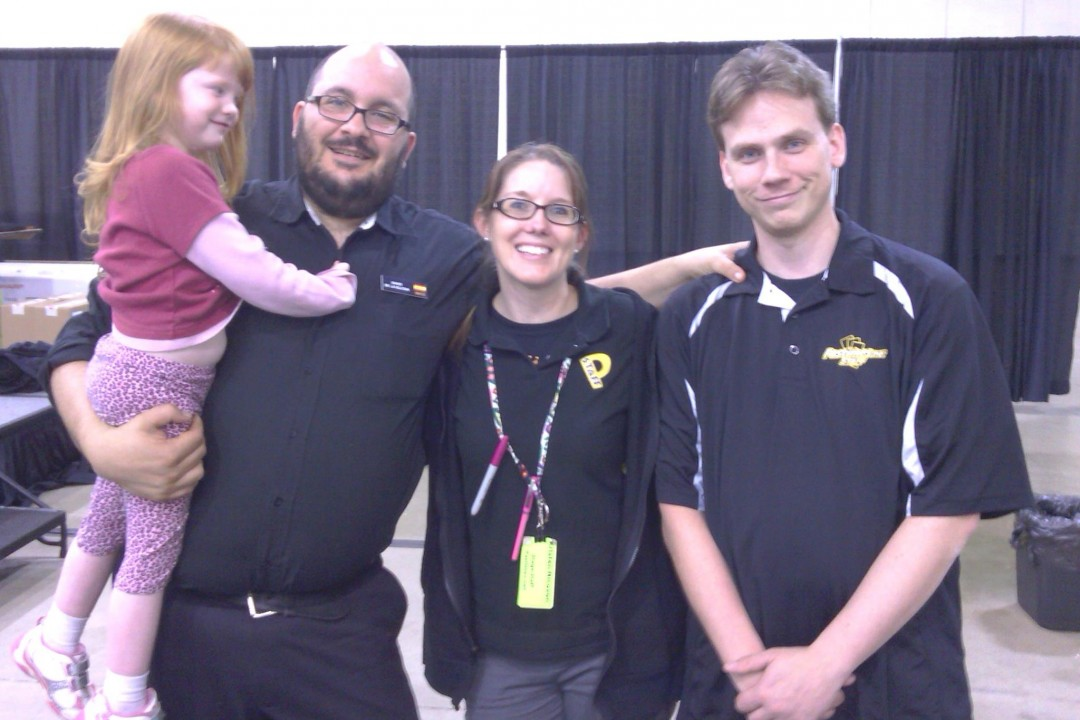 GP Chicago 2012 — with Maddi Wall, Kristen Nicoson and Eric Wall