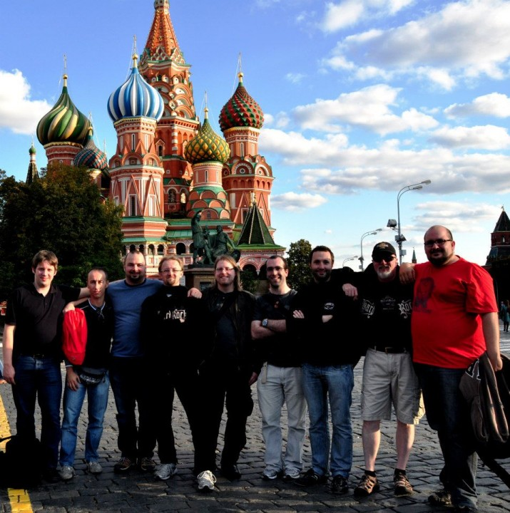 GP Moscow 2012 — with Martin Köhler, Davide Succi, Sebastian Reinfeldt, Riccardo Tessitori, Oli Bird, Mark Mc Govern, Matteo Callegari and Scott Marshall