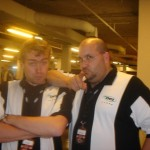 GP Paris 2008 — with Jurgen Baert