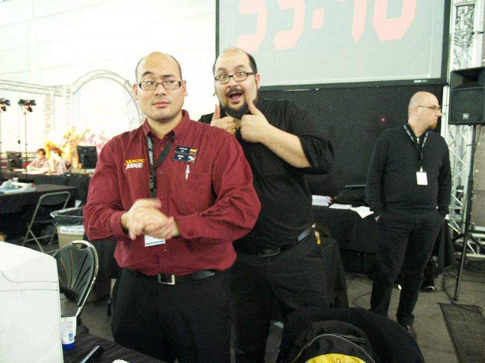 GP Verona 2013 — with Carlos Ho