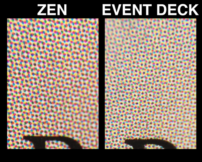 Rosette pattern on ZEN and Event Deck