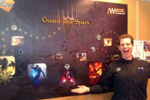 Dustin's 'M14 Prerelease Guard Your Spark' Game