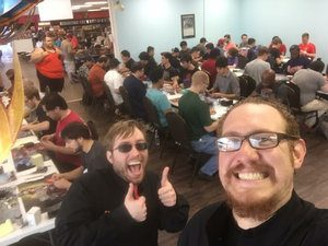 Nik Zitomer judging a local PPTQ