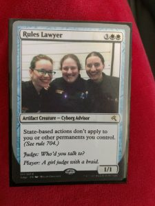 Rules Lawyer featuring Megan Linscott, Eliana Rabinowitz and Kali Rosewater