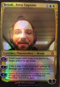 Brook's Area Captain Planeswalker Card