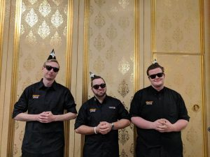 Brook and his L2 mentees at GP Vegas