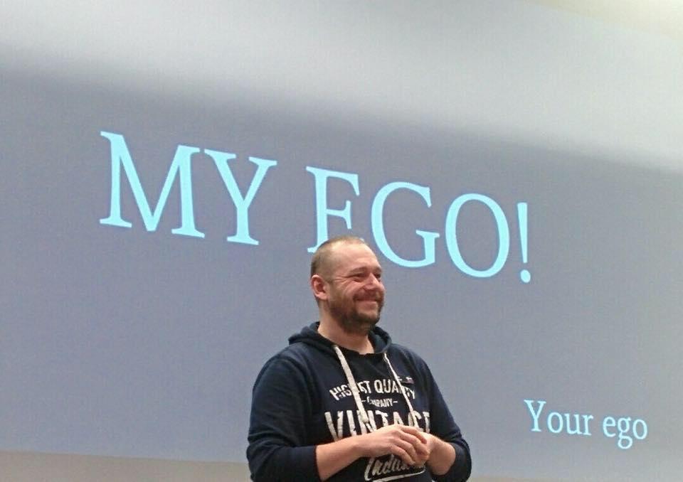 Patrik's ego!