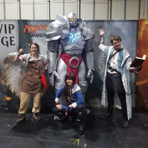 Weatherlight crew with Alistair as Raff Capashen