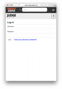 Mobile Login Page