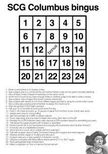 columbus bingo