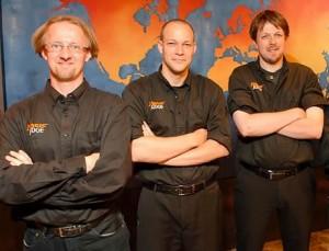 Riccardo, Lems, & Kevin