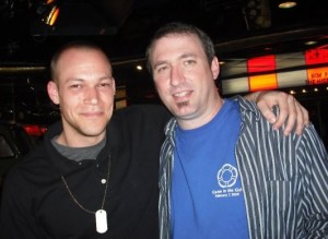 Lems & Steven on the first Magic Cruise