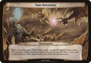 time-distortion