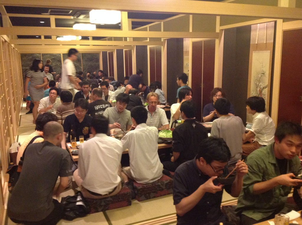 GP Kobe 2014 Judge dinner!